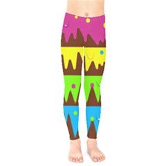Illustration Abstract Graphic Kids  Legging by Nexatart