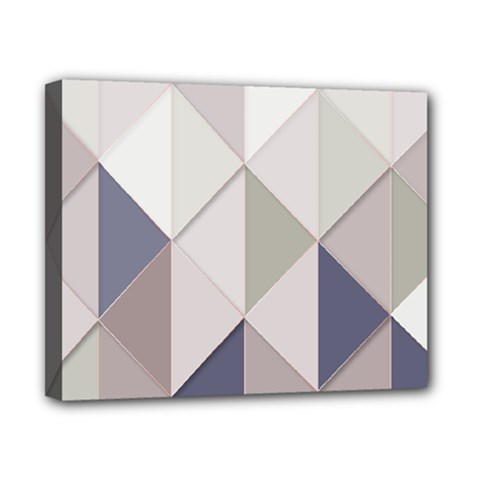 Background Geometric Triangle Canvas 10  X 8