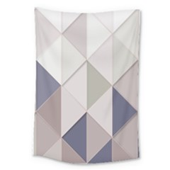 Background Geometric Triangle Large Tapestry