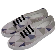 Background Geometric Triangle Men s Classic Low Top Sneakers by Nexatart