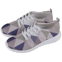Background Geometric Triangle Men s Lightweight Sports Shoes by Nexatart