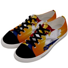 Holland Country Nation Netherlands Flag Men s Low Top Canvas Sneakers by Nexatart