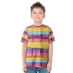 Art Background Abstract Kids  Cotton Tee