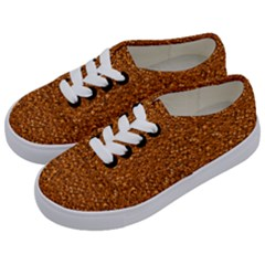 Sparkling Glitter Terra Kids  Classic Low Top Sneakers by ImpressiveMoments