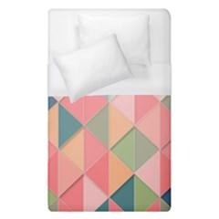 Background Geometric Triangle Duvet Cover (single Size) by Nexatart