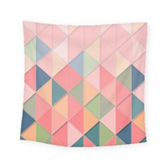 Background Geometric Triangle Square Tapestry (small) by Nexatart