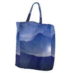 Planet Discover Fantasy World Giant Grocery Zipper Tote