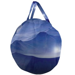 Planet Discover Fantasy World Giant Round Zipper Tote