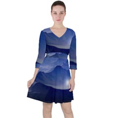 Planet Discover Fantasy World Ruffle Dress