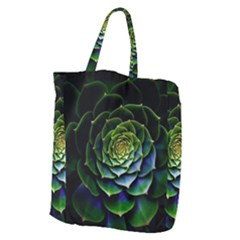 Nature Desktop Flora Color Pattern Giant Grocery Zipper Tote