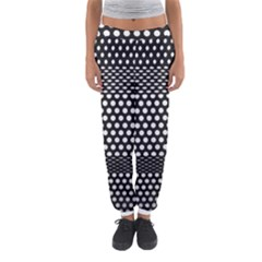 Holes Sheet Grid Metal Women s Jogger Sweatpants by Nexatart