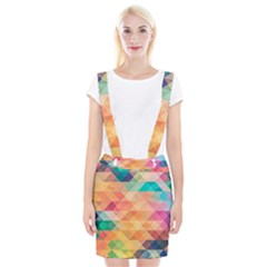 Texture Background Squares Tile Braces Suspender Skirt