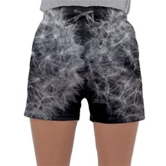 Dandelion Fibonacci Abstract Flower Sleepwear Shorts