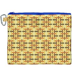 Ethnic Traditional Vintage Background Abstract Canvas Cosmetic Bag (xxxl) by Nexatart