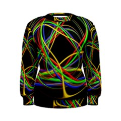 Ball Abstract Pattern Lines Women s Sweatshirt