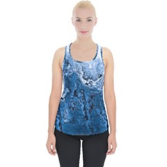 Water Nature Background Abstract Piece Up Tank Top