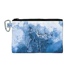 Water Nature Background Abstract Canvas Cosmetic Bag (medium)