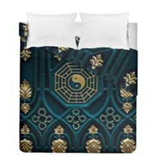 Ying Yang Abstract Asia Asian Background Duvet Cover Double Side (full/ Double Size)
