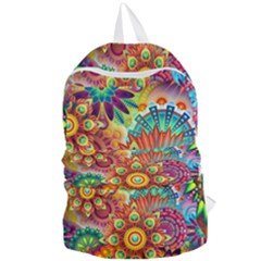 Colorful Abstract Background Colorful Foldable Lightweight Backpack