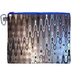 Wallpaper Steel Industry Canvas Cosmetic Bag (xxxl) by Nexatart