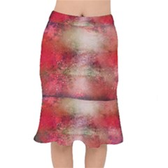 Background Art Abstract Watercolor Mermaid Skirt
