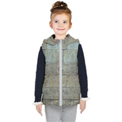 Wall Stone Granite Brick Solid Kid s Puffer Vest
