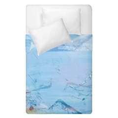 Background Art Abstract Watercolor Duvet Cover Double Side (single Size)
