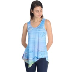 Background Art Abstract Watercolor Sleeveless Tunic