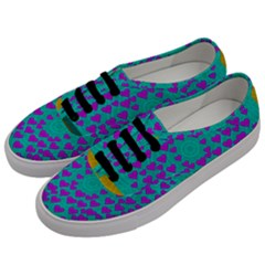 Raining Love And Hearts In The  Wonderful Sky Men s Classic Low Top Sneakers by pepitasart