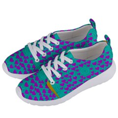 Raining Love And Hearts In The  Wonderful Sky Women s Lightweight Sports Shoes by pepitasart