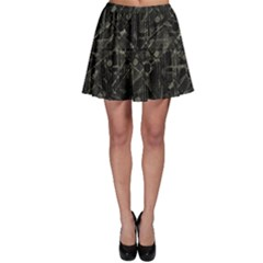 Abstract Collage Patchwork Pattern Skater Skirt by dflcprints