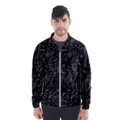 Abstract Collage Patchwork Pattern Wind Breaker (men) by dflcprints
