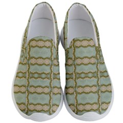 Celtic Wood Knots In Decorative Gold Men s Lightweight Slip Ons by pepitasart