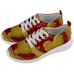 Year Of The Dog   Chinese New Year Men s Lightweight Sports Shoes by Valentinaart