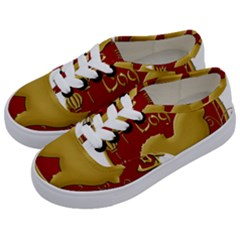 Year Of The Dog   Chinese New Year Kids  Classic Low Top Sneakers by Valentinaart