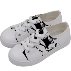 Cabaret Kids  Low Top Canvas Sneakers by Valentinaart