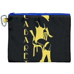 Cabaret Canvas Cosmetic Bag (xxl)