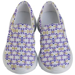 Decorative Ornate Pattern Kid s Lightweight Slip Ons by dflcprints