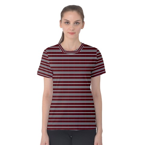 Indian Stripes Women s Cotton Tee by jumpercat