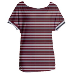 Indian Stripes Women s Oversized Tee by jumpercat