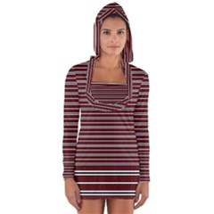 Indian Stripes Long Sleeve Hooded T Shirt by jumpercat