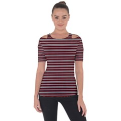 Indian Stripes Short Sleeve Top by jumpercat