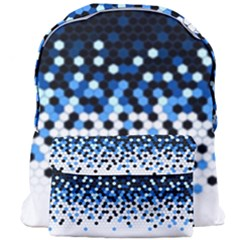 Flat Tech Camouflage Reverse Blue Giant Full Print Backpack