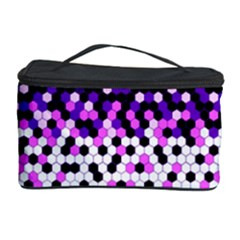 Flat Tech Camouflage Reverse Purple Cosmetic Storage Case