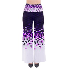 Flat Tech Camouflage Reverse Purple Pants by jumpercat