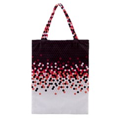 Flat Tech Camouflage Reverse Red Classic Tote Bag