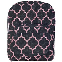 Tile1 Black Marble & Pink Glitter (r) Full Print Backpack by trendistuff