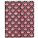 SCALES2 BLACK MARBLE & PINK GLITTER Apple iPad 2 Flip Case View1