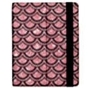 SCALES2 BLACK MARBLE & PINK GLITTER Apple iPad 2 Flip Case View2