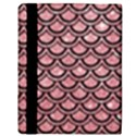SCALES2 BLACK MARBLE & PINK GLITTER Apple iPad 2 Flip Case View3